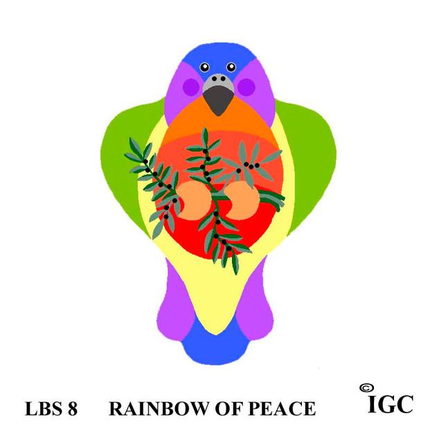 Rainbow of Peace Bird