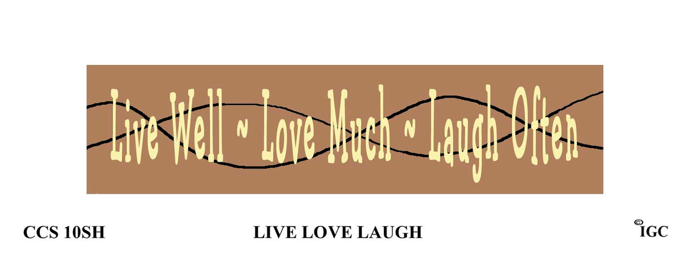 Live Love Laugh Candle Cozy