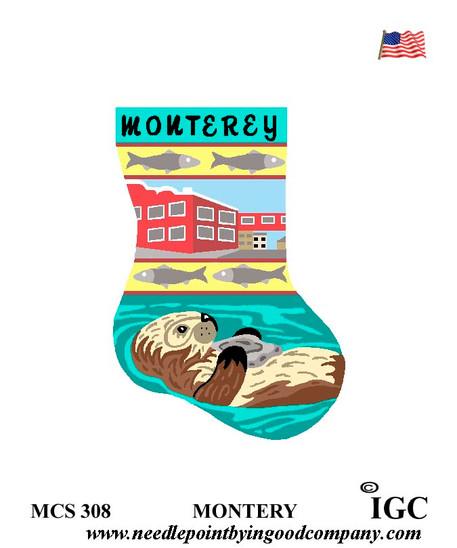 Monterey mini sock