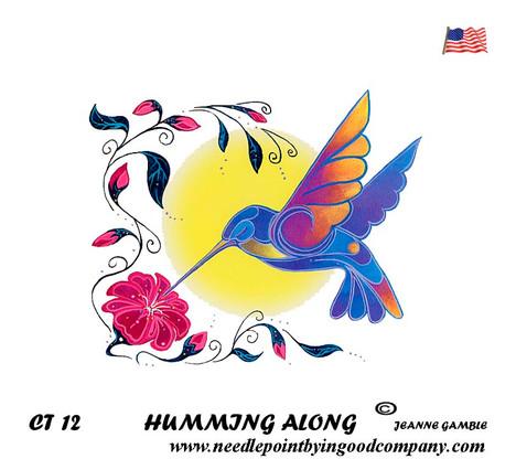 Humming Along - Jeanne Gamble