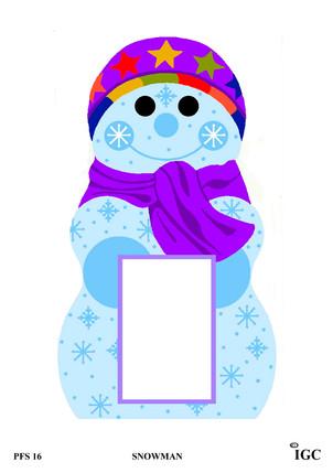 Snowman Large Frame