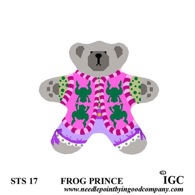 Frog Prince Bear