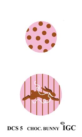 Chocolate Bunny Discs