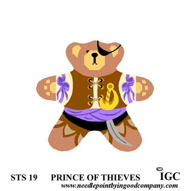 Prince of Thieves Bear