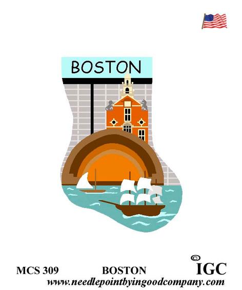 Boston mini sock