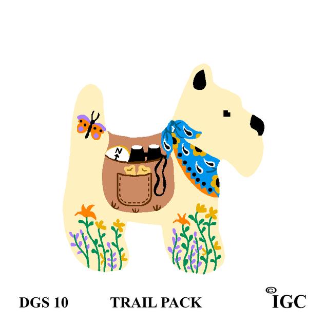 Trail Pack Dog
