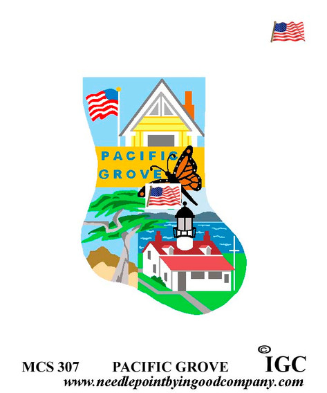 Pacific Grove mini sock