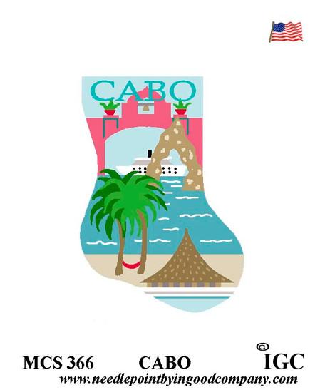 Cabo San Lucas mini sock