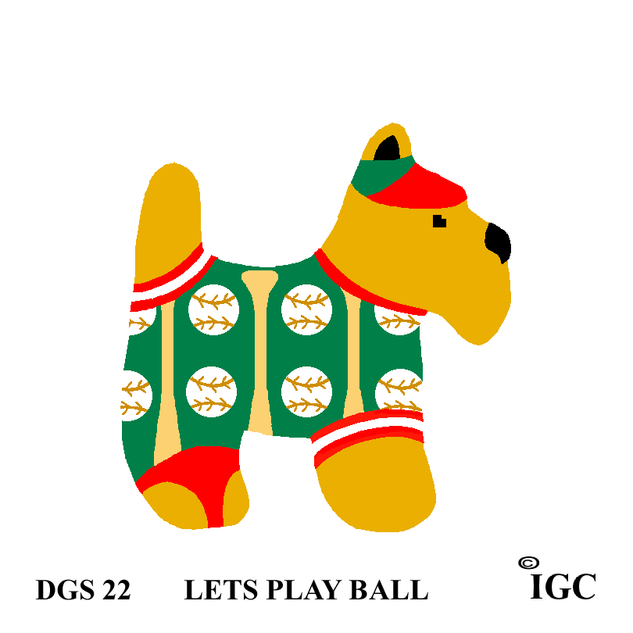 Let's Play Ball Dog