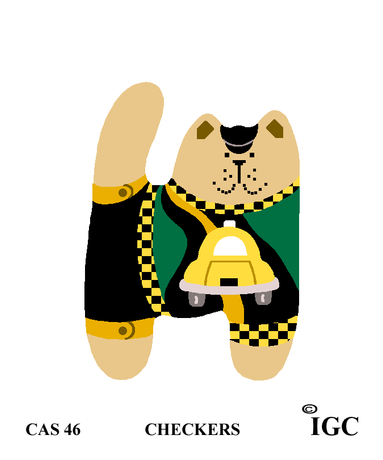 Checkers Cat