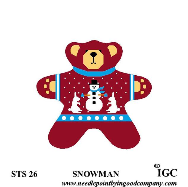 Snowman Bear