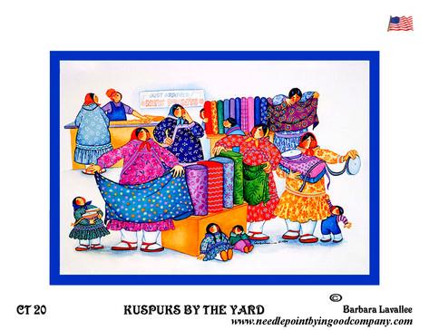 Kuspuks By The Yard - Barbara Lavallee