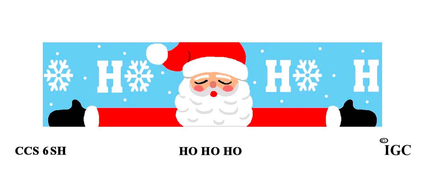 Ho Ho Ho Candle Cozy