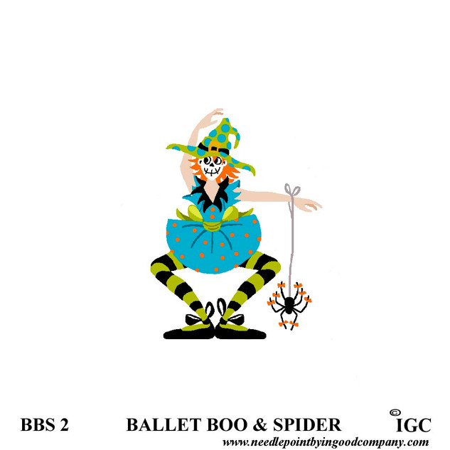 Ballet Boo and Spider