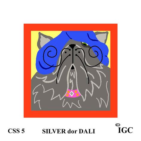 Silver dor Dali Square