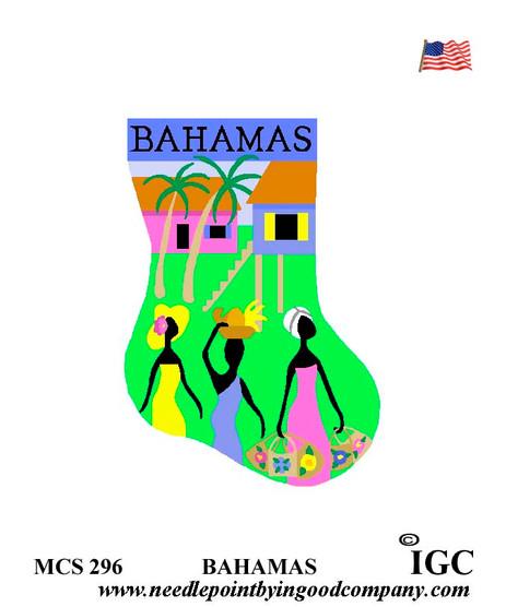 Bahamas mini socks