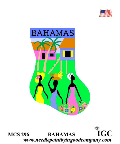 Bahamas mini socks