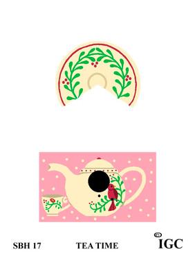 Tea Time Small Birdhouse
