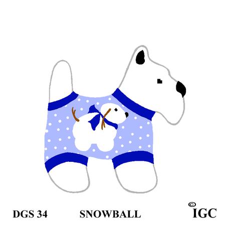 Snowball Dog