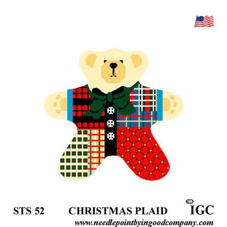 Christmas Plaid Bear