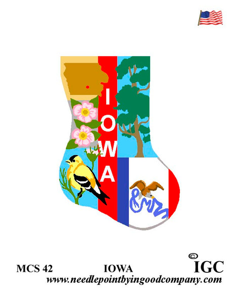 Iowa Mini Sock