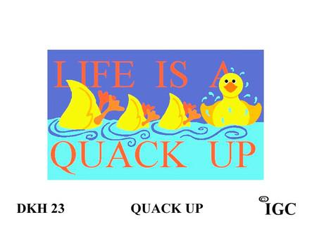 Life is A Quack Up Doorknob Hanger