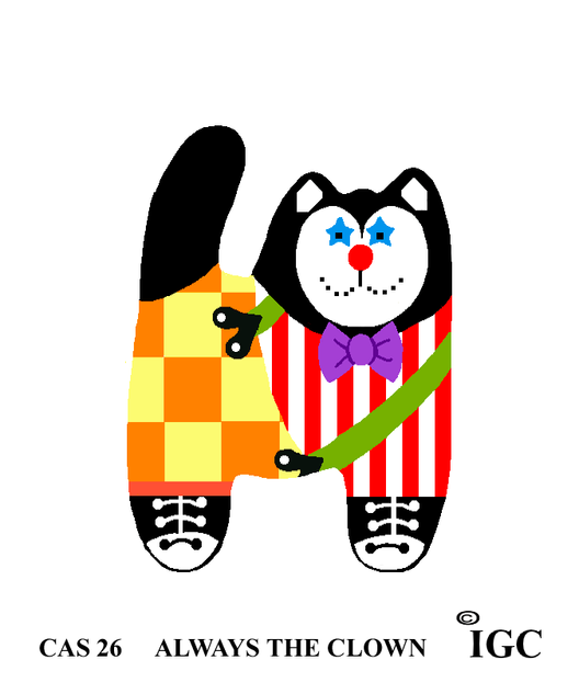 Always The Clown Cat