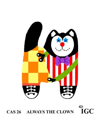 Always The Clown Cat