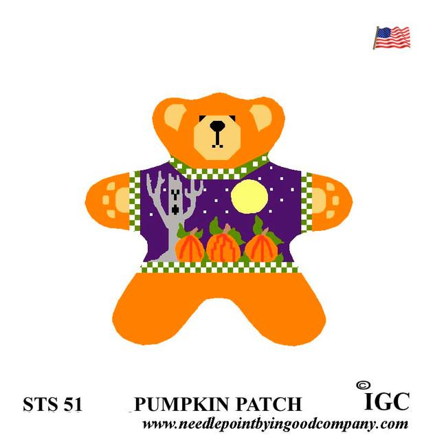 Pumpkin Patch Bear