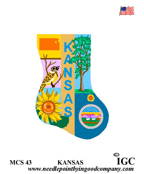 Kansas Mini Sock