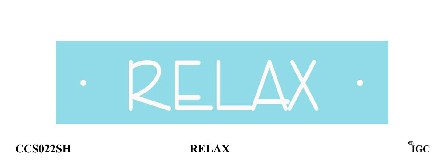Relax Candle Cozy