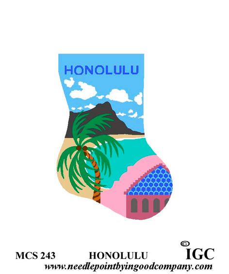 Honolulu mini sock