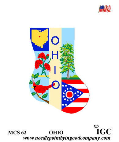 Ohio Mini Sock