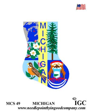 Michigan Mini Sock