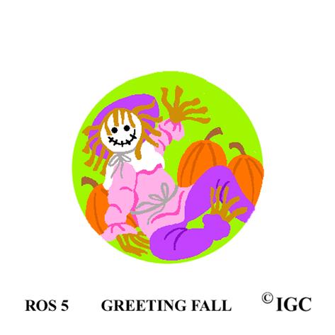 Greeting Fall Round