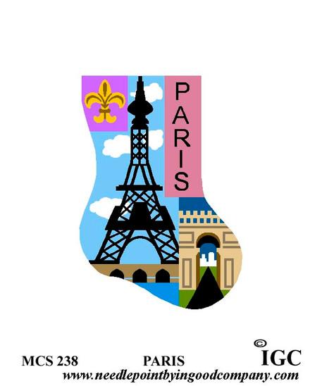Paris mini sock