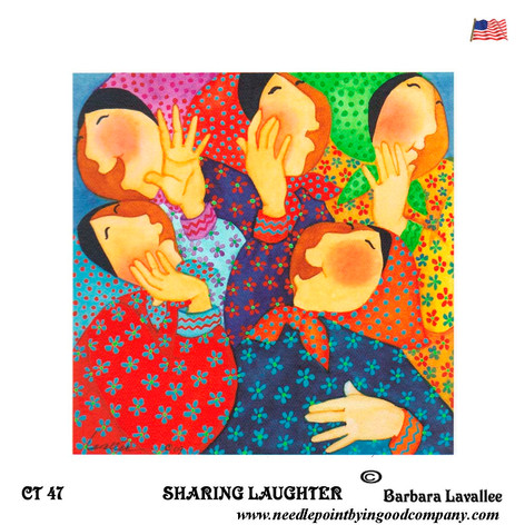 Sharing Laughter - Barbara Lavallee