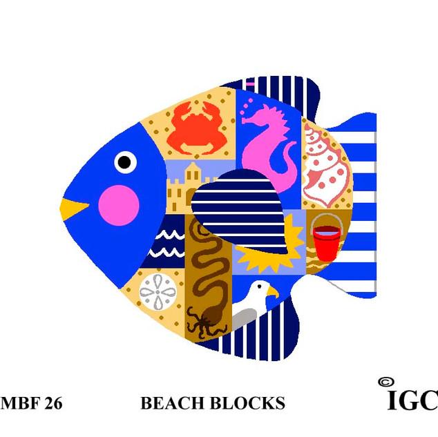 Beach Blocks Fish