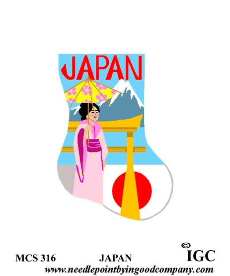 Japan mini sock