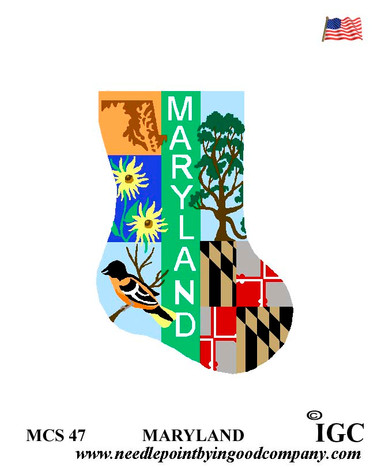 Maryland Mini Sock