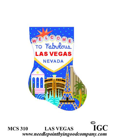 Las Vegas mini sock