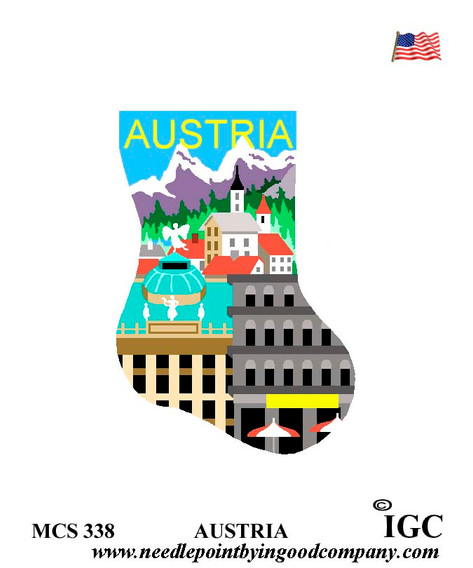 Austria mini sock