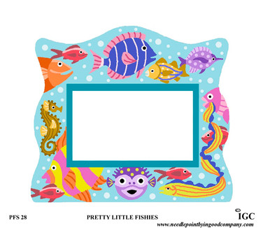 Pretty Little Fishies Large Frame