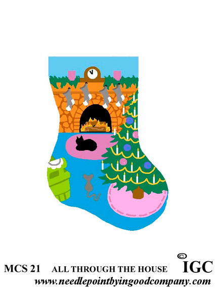 All Through The House mini sock