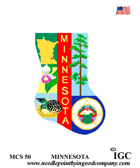 Minnesota Mini Sock