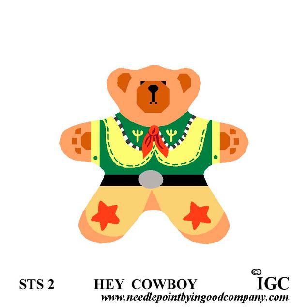 Hey Cowboy Bear
