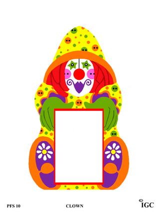 Clown Large Frame