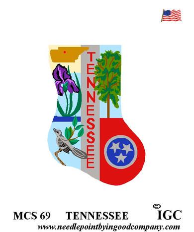 Tennessee Mini Sock