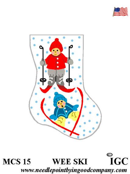 Wee Ski mini sock