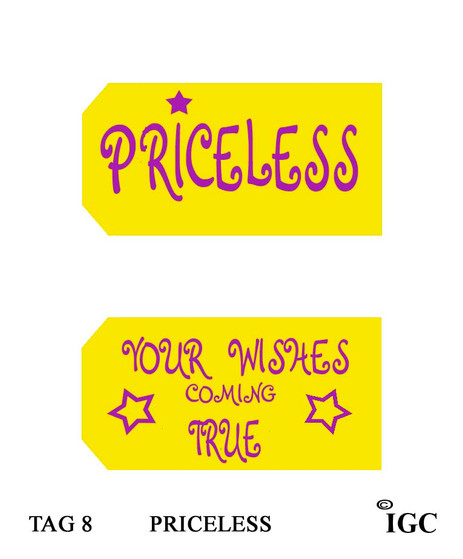 Priceless / Your Wishes Coming True Tag